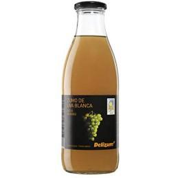 Zumo de Uva Blanca, 1 litro.