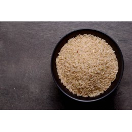 Arroz largo integral, 1 kg.