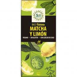 Bio tableta MATCHA Y LIMÓN
